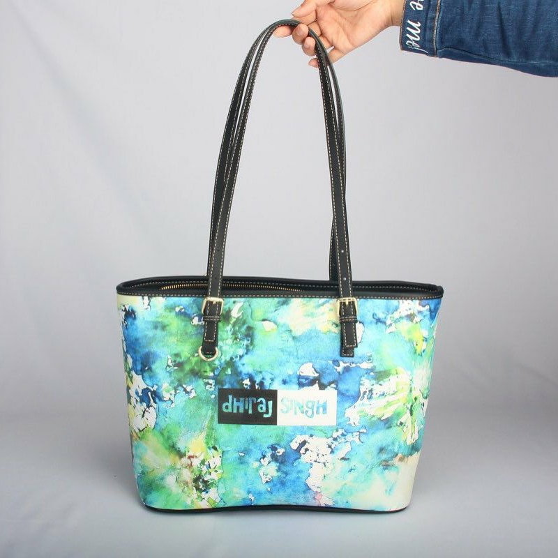 FORUDESIGNS High Quality 2pcs Set Women Luxury Handbag And Purse Pohnpei Polynesian Samoa Turtle Print Lady Pu Leather Bolsa Sac