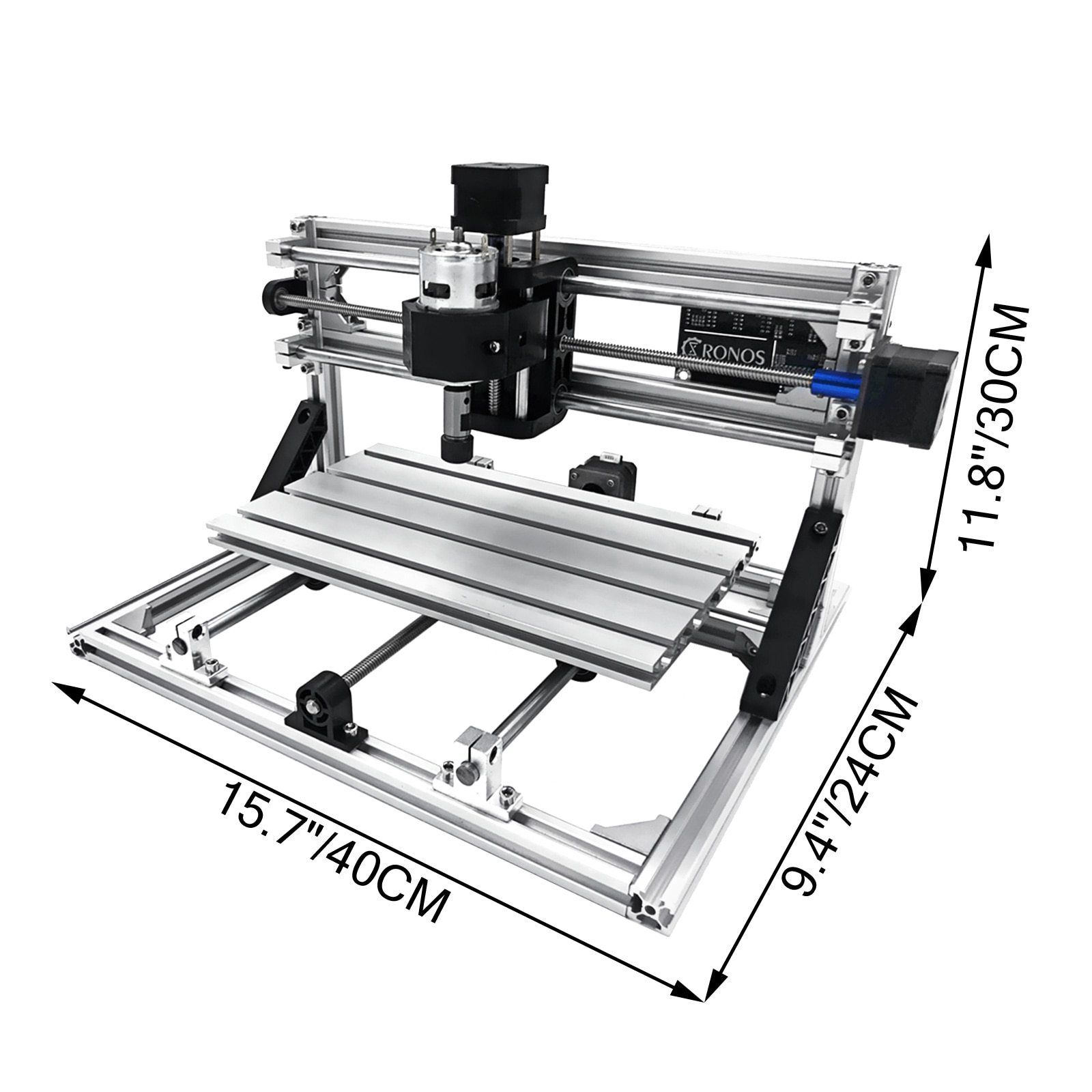 VEVOR 3 Axis CNC 3018 Laser Engraver GRBL Control Molding Milling Machine USB Port with ER11 for DIY PVC PCB Acrylic Wood Router enlarge