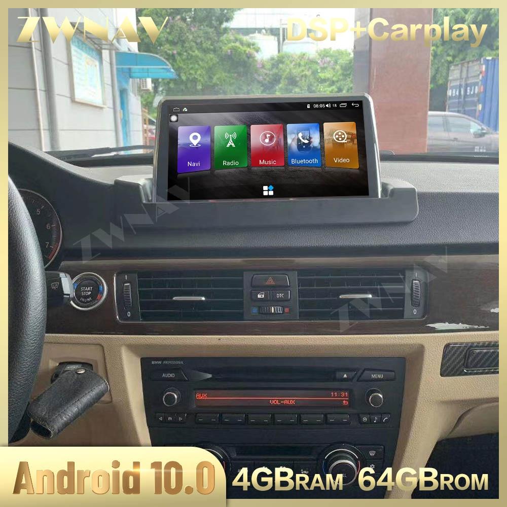 Carplay 2 Din pour BMW série 3 E90 E91 E92 E93 2005-2012 Android 10 écran multimédia Audio Radio GPS Navi tête unité Auto stéréo