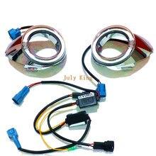 July King lumière LED Guide feux de jour boîtier pour Ford Focus III 2011-2013, pare-chocs avant ange yeux DRL, 11 remplacement