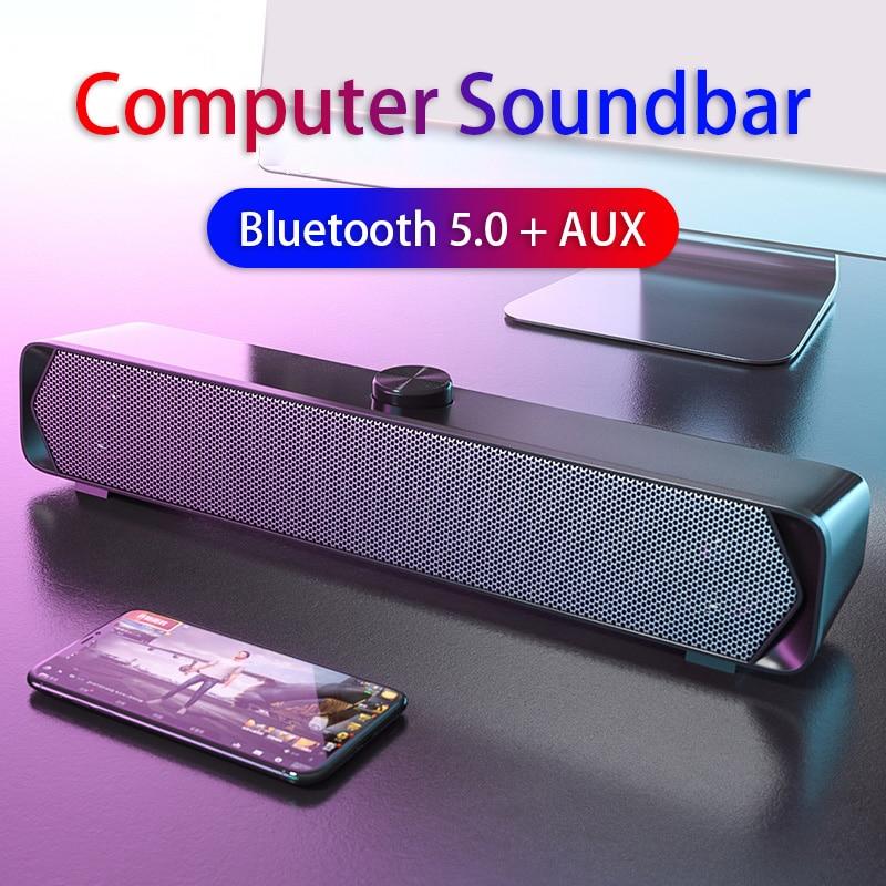 Barra De Sonido Para TV Altavoces De Ordenador Bluetooth Para Ordenador De escritorio barra sonido tv altavoces ordenador parlantes para pc altavoz pc