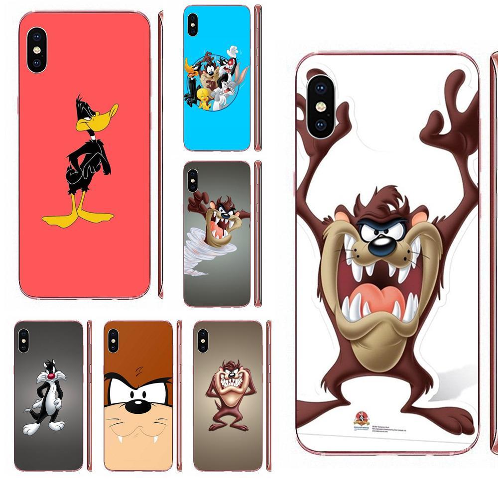Looney Tunes demonio de Tasmania Taz suave funda TPU Art Online, funda para Xiaomi Mi A1 A2 A3 CC9 CC9E 9T mi10 mi9 mi8 pro lite SE