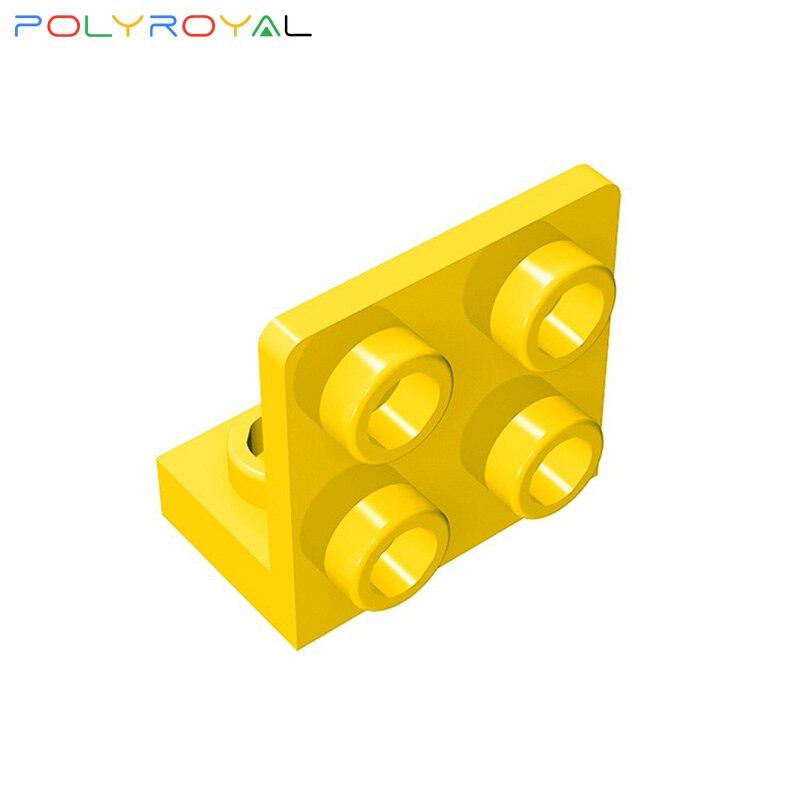 Accesorios de bloques de construcción DIY 1x2-2x2Direction placa de pared de soporte 10 Uds MOC juguete educativo para niños Regalo de Cumpleaños 99207