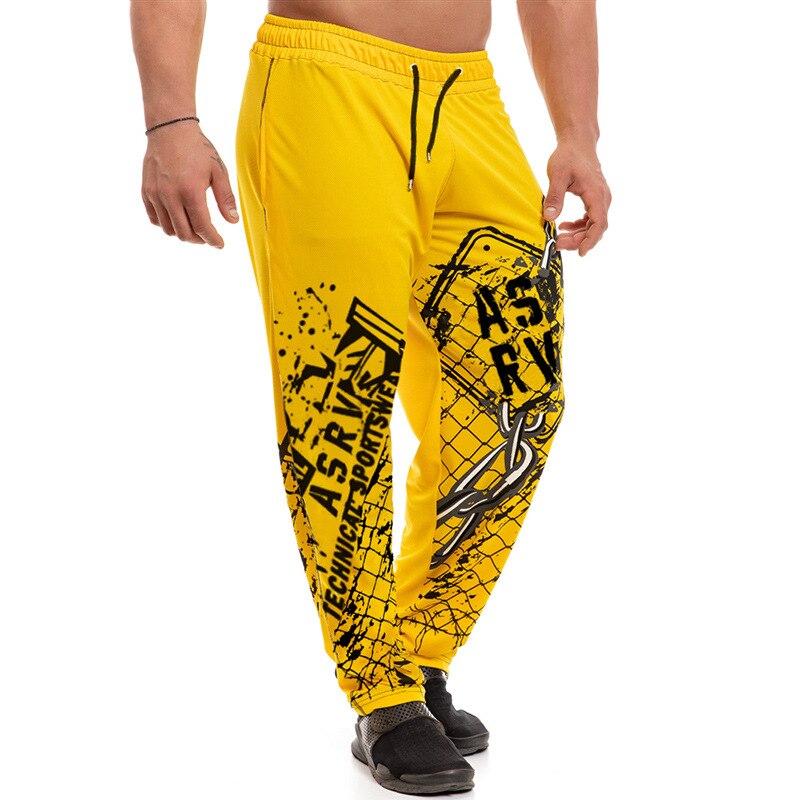 Штаны для бега, бега, мужские хлопковые тренировочные штаны для бодибилдинга, джоггеры, тренировочные штаны, шаровары в стиле хип-хоп, спорт...