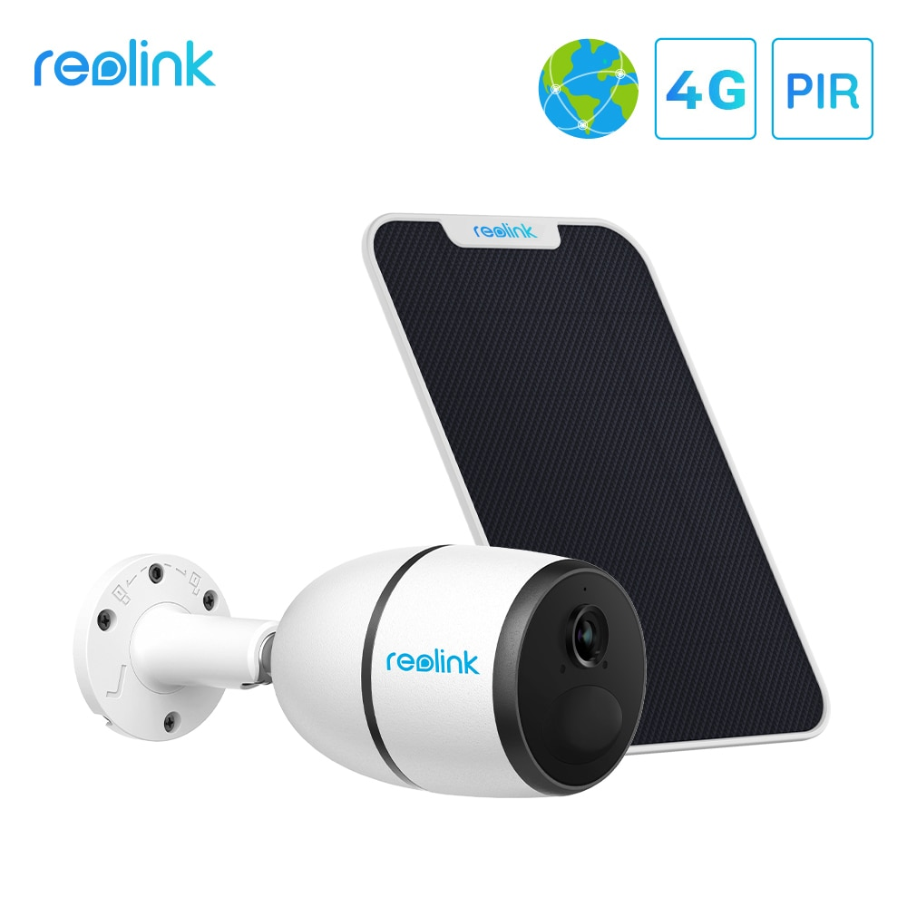 aliexpress.com - Reolink 4G LTE camera GO 1080p starlight night vision work with SIM card weatherproof Rechargeable Battery Powered ip camera