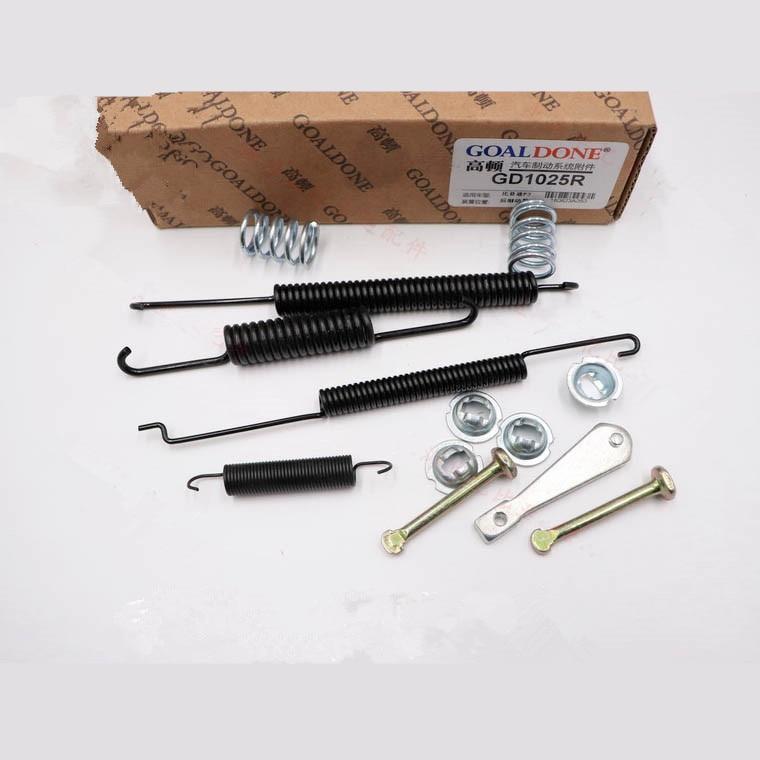 Kit de reparación de freno de tambor trasero para BYD F3 F3R G3 G3R L3 kit de reparación de bomba de cilindro de freno trasero
