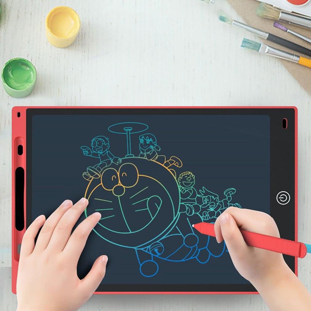 Tableta gráfica electrónica dibujo tableta de escritura Lcd inteligente pizarra borrable 8,5 pulgadas luz Pad escritura pluma