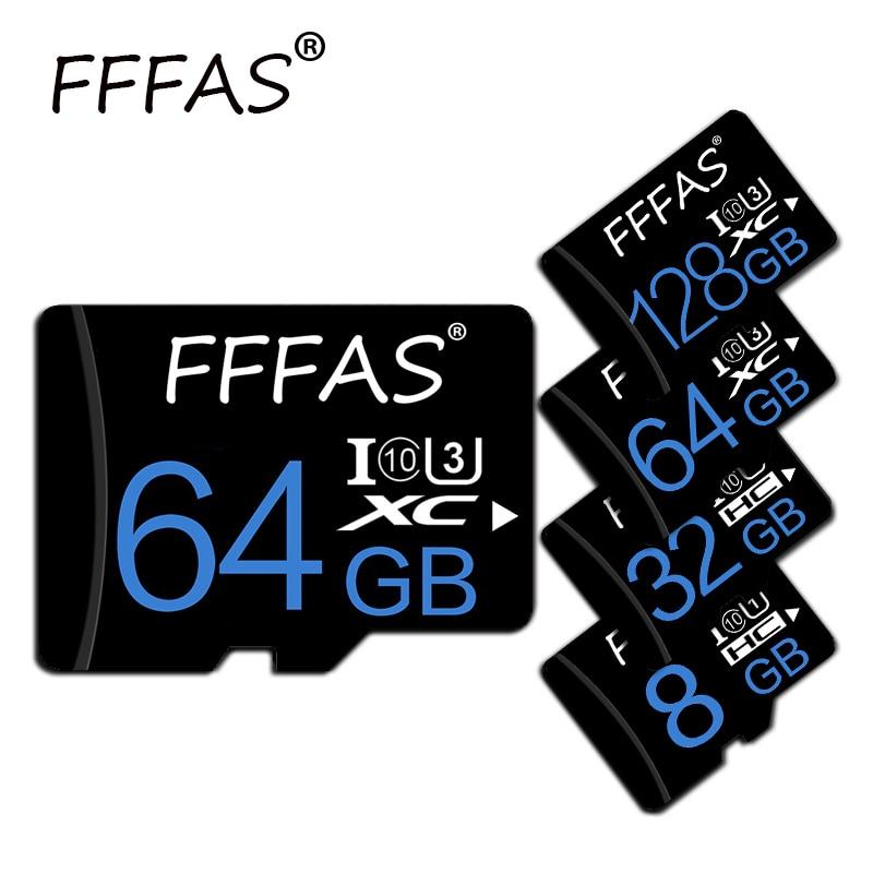 Real capacity micro sd card SDHC 32GB 16GB 8GB carte sd Memory Card High Speed 64GB 128GB microsd fo
