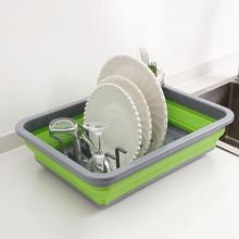 Pliable bricolage égouttoir rangement pour cuisine égouttoir bol vaisselle plaque Portable étendoir maison étagère vaisselle organisateur