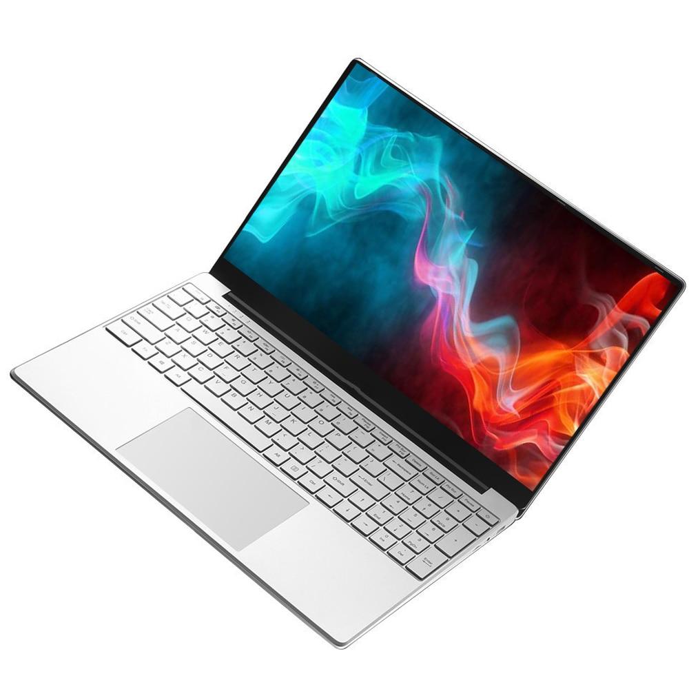 Get Intel Laptop 15.6 inch Windows 10 Pro 1920*1080 Cheap Portable Laptop Ram 12GB Rom 128GB SSD  500GB 1TB HDD HDMI Port Notebook