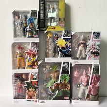 Figurine Dragon Ball Z Super Saiyan Son Gokou figurine Goku androïde végéta troncs Majin Buu Broly figurines jouet