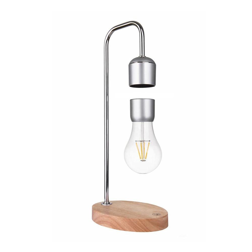 Levitate gleagle switch suspended levitation led table desk lampe bulb ufo balance levitating kinetic wood light buld enlarge