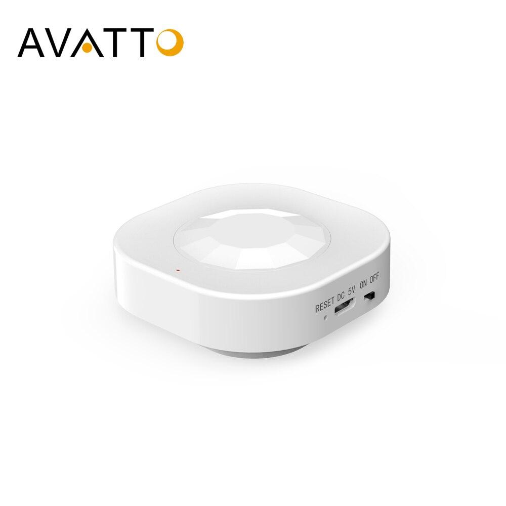 AVATTO-مستشعر حركة WiFi PIR ، للمنزل المتصل ، مستشعر أمان ضد السرقة ، للمنزل المتصل