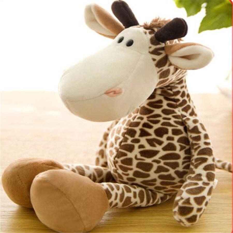 27cm 35cm de jsq juguetes muñecos de jirafa de peluche de juguete rascador muñeca máquina de dollsno para regalo de cumpleaños 1 Uds