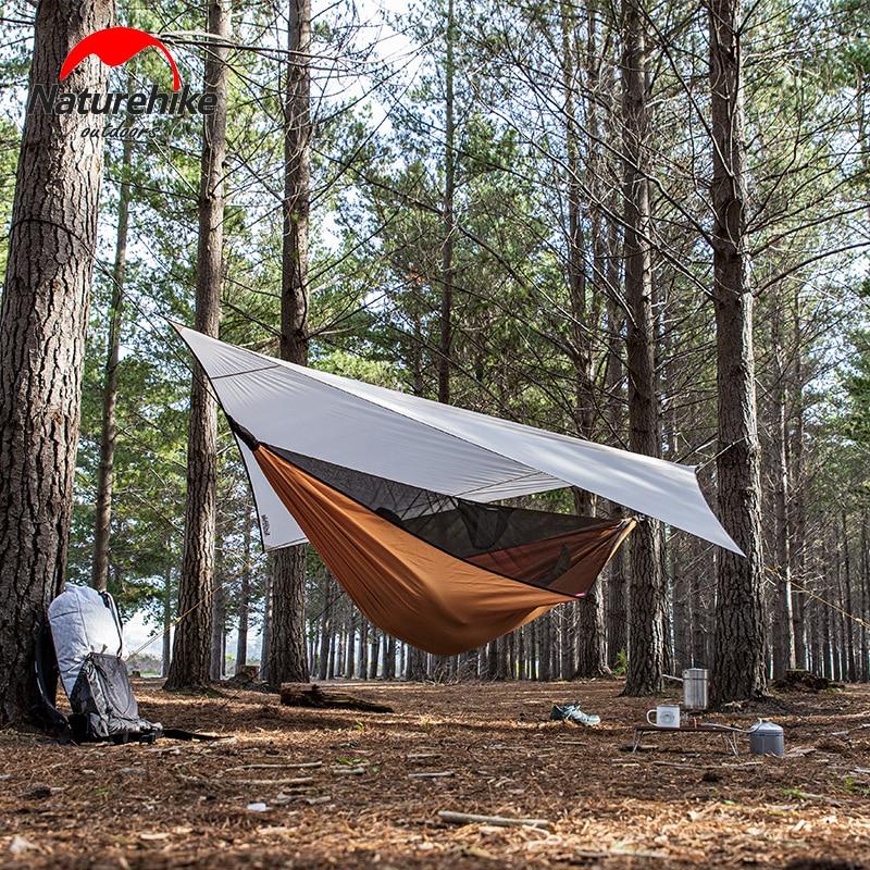 Naturehike Hammock Tent Ultralight Camping Hammock Portable Hammock Tent Tarp Shelters Awning Outdoor Mosquito Net Tree Tent