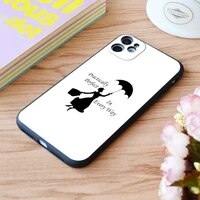 for iphone mary poppins practically perfect 6 print soft matt apple iphone case 6 7 8 11 12 plus pro x xr xs max se