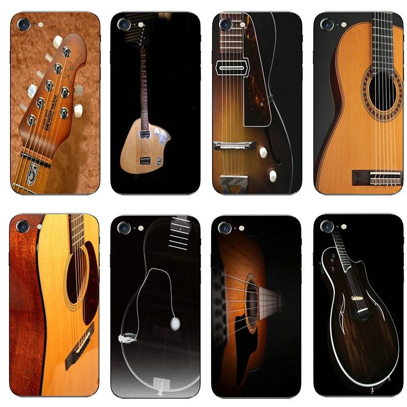 Taylor guitarra tpu macio silicone casos de telefone móvel capa para iphone 8 7 6s plus x xr xs 11 pro max 10 5 5S se 5c 4 4S sacos