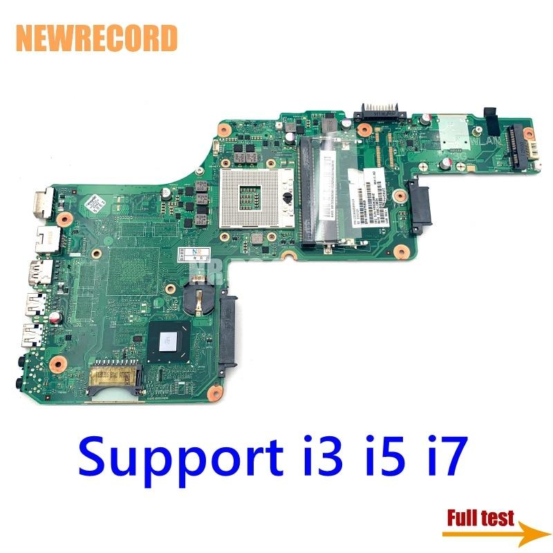 NEWRECORD 1310A2509904 V000275210 V000275350 لتوشيبا L855 S855 محمول اللوحة اللوحة HM76 شرائح HD4000