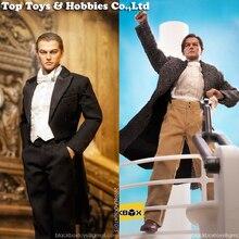 En Stock 1/6 échelle BLACKBOX BBT9014 Titanic Jack Leonardo mâle ensemble complet figurine poupée 12