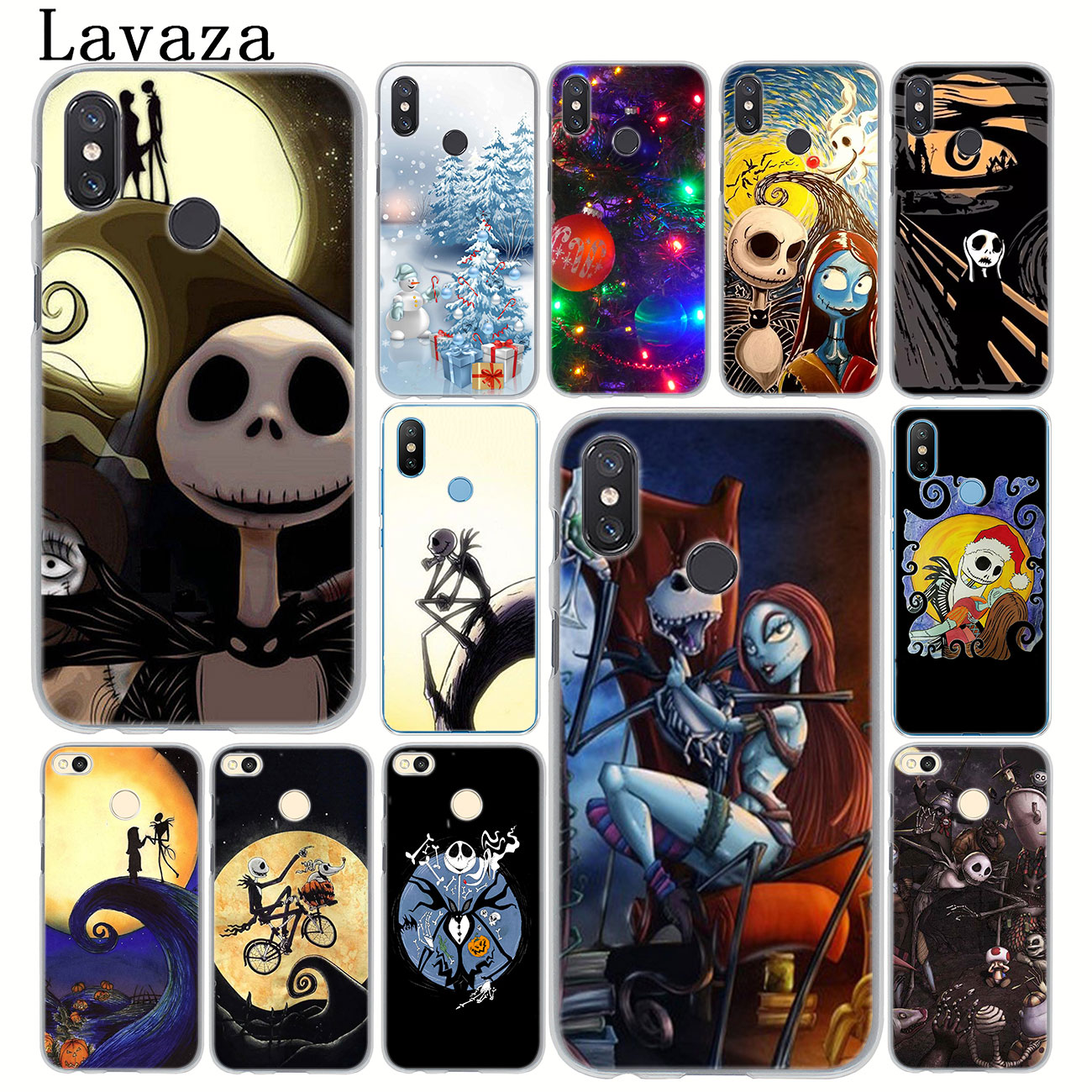 Jack funda de teléfono para Xiaomi de jack de pesadilla para Halloween, MI 10, 9, 9T, CC9, CC9E, A3 Pro, 8, SE, A2 Lite, A1, pocophone f1, 6, Mi10