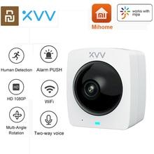 Xiaovv Smart Panora Mi C Ip Camera Hd 1080P 360 ° Panora Mi C Ai Humanoïde Detection Ir Night versie Cctv Camera Werk Voor Mi Thuis App