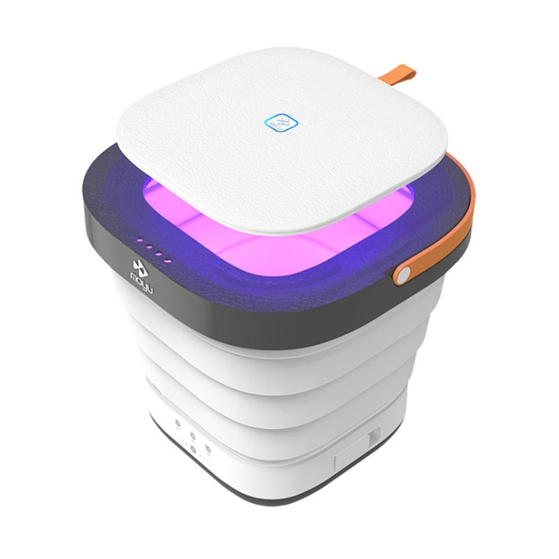 Esterilizador UV de 220V, lavadora de ropa plegable, esterilización ultravioleta portátil, lavadora de ropa interior
