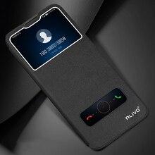 Pour Huawei Honor 20 Pro / 30 Pro Plus / 30S étui vue 20 rabat étui de téléphone en cuir pour Huawei Y8P P40 Lite 5G couverture vue fenêtre