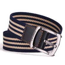 SUMEIKE fashion Korean pin buckle canvas belts for men and women students leisure outdoor belts tide woven cloth belts
