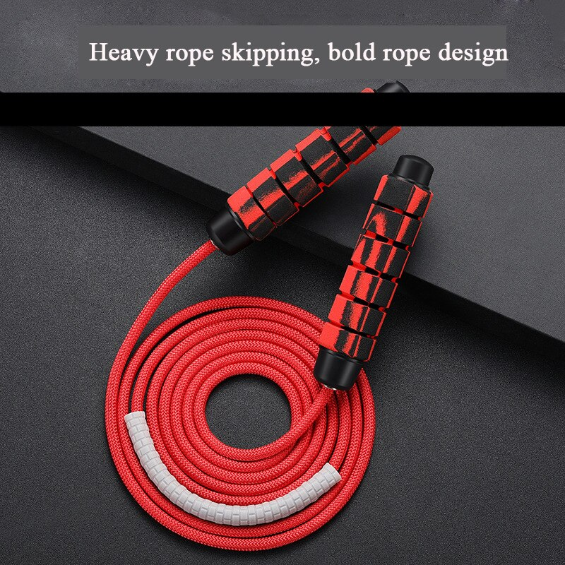 hanging endless rope training adjustable resistance core training fitness equipment gym home outdoor exercise abdominal aerobic Adjustable Weighted Skip Rope Adult Training Sponge Bearing Skipping Rope Jump Rope Speed Home Gym Exercise Fitness Equipment