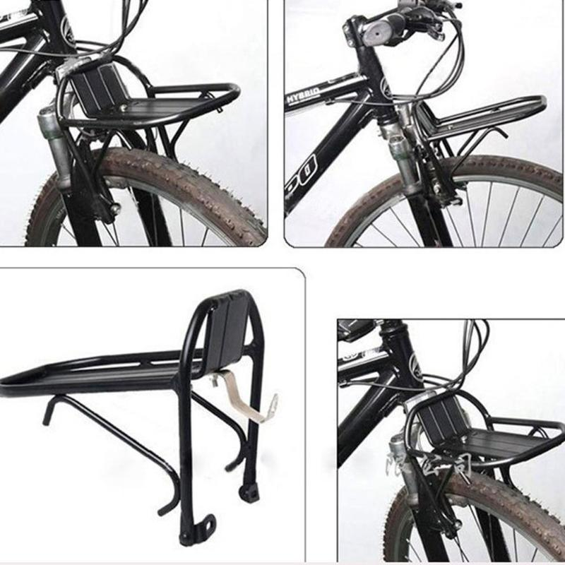 Bicicleta bagageiro bagageiro de carga rack traseiro prateleira ciclismo ajustável mtb rack de carga da bicicleta pannier bagageiro