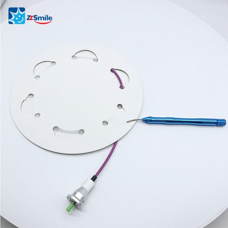 الأسنان 2.5W 7W الليزر ألياف عارية الأسنان Autoclavable قبضة متجرد الألياف البصرية الآلات