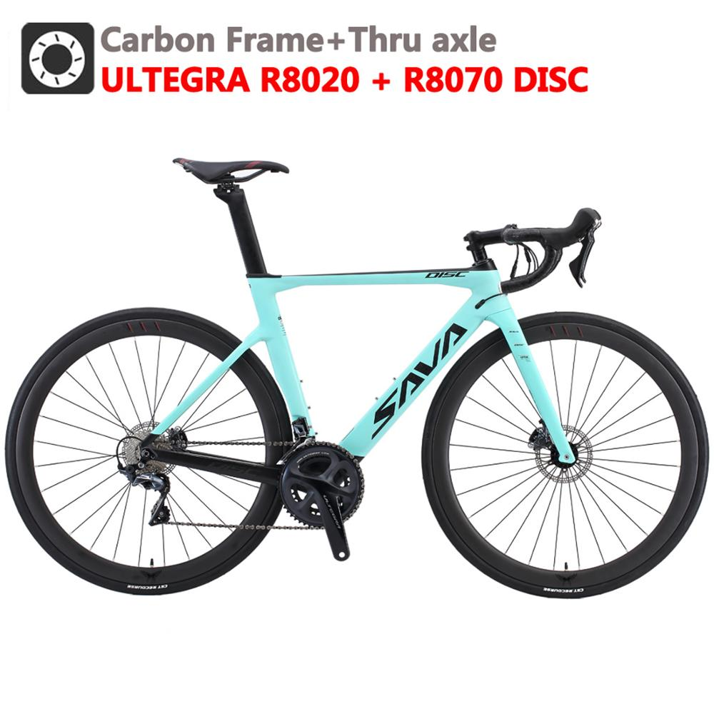 Disc Brake Road Bike Carbon Road Bike with SHIMANO ULTEGAR R8070 Hydraulic Disc Brake Racing Bike Disc Brake Bicycle Racing Bike
