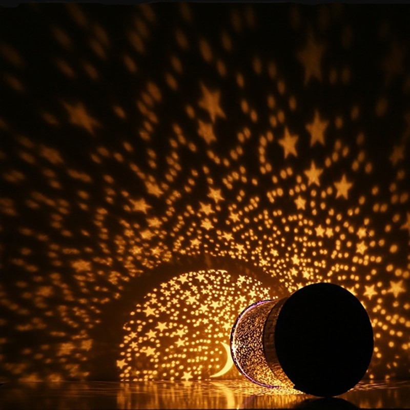Romantic Amazing LED Starry Night Sky Projector Lamp Star light Cosmos Master Ornament  - buy with discount