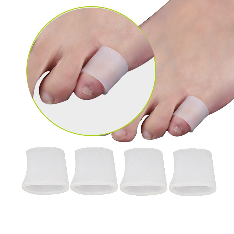 chicco накладки на соски силиконовые защитные р s m 2 шт Силиконовые гелевые защитные накладки на пальцы стопы, 2 шт.