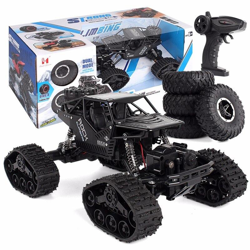 Rc Car 1:12 4WD Off-road Climbing Remote Control Car 2.4Hz Radio Controlled Car Track wheels Rc Car kids Toy enlarge