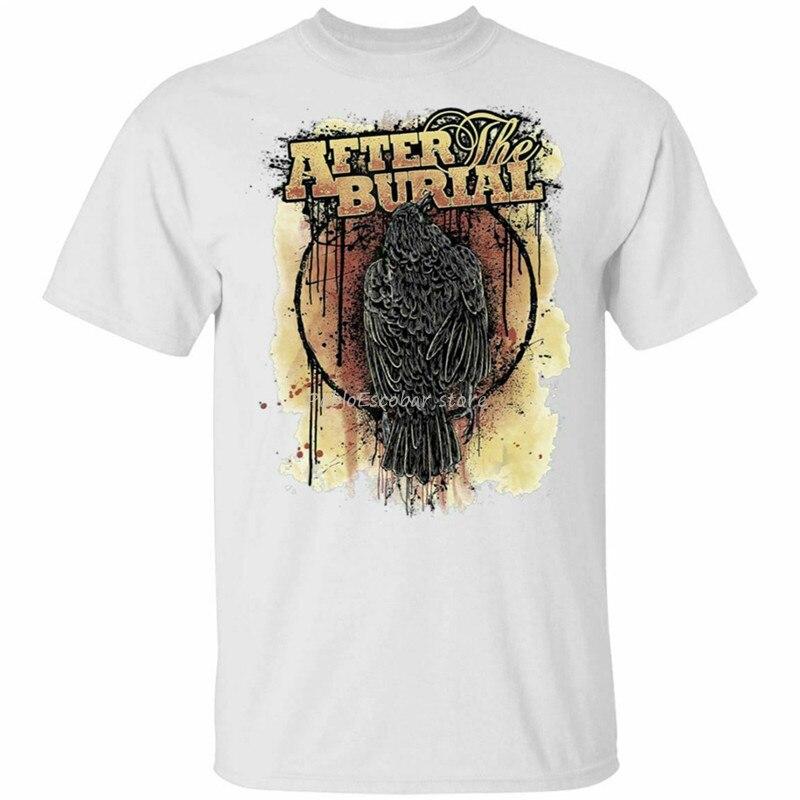 Camisa masculina de algodão tshirt novo homem tamanho maior teesshirt após o enterro camiseta tamanho S-3Xl popular camiseta tagless