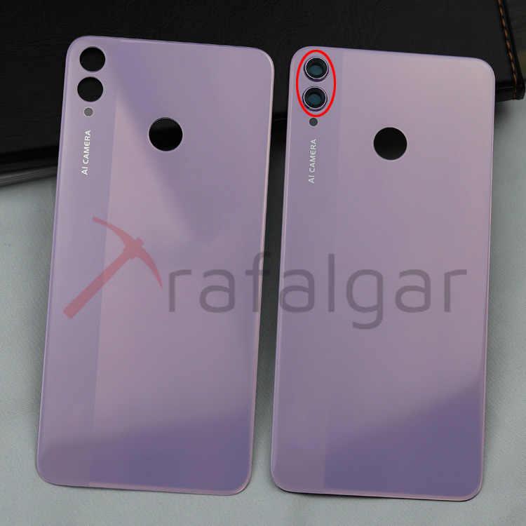 Para Huawei Honor 8x Voltar Capa Da Bateria Traseira Porta De Vidro Habitação Caso Jsn L22 Jsn L21 Para Honor 8x Painel Capa Traseira Câmera Lente Estojos De Celular Aliexpress