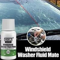 hgkj 16 20%c3%974pcs car glass car wash coating glass hydrophobic mate windshield washer fluid mate auto maintenance rainproof