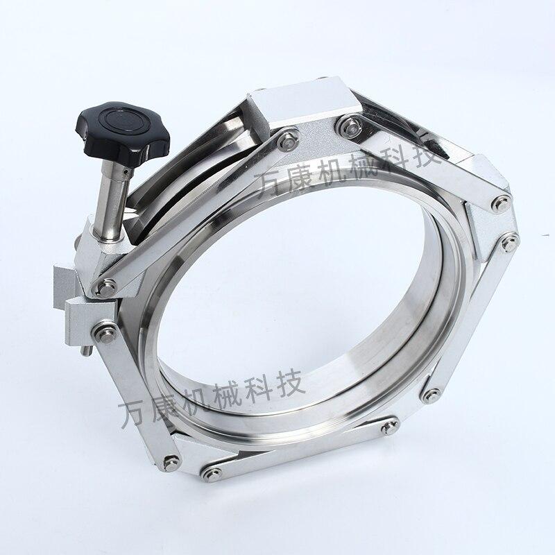 304 الفولاذ المقاوم للصدأ KF فراغ المقبس المشترك المشبك فراغ سلسلة المشبك KF63 KF80 KF100 KF160
