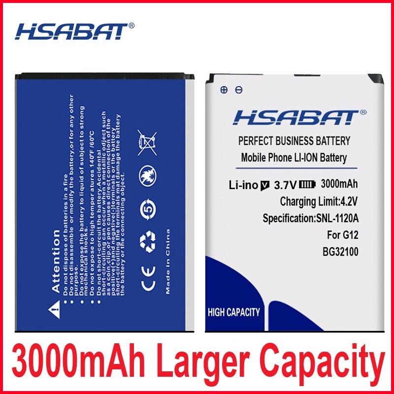 HSABAT 3000mAh BG32100 batería para HTC T3366/G2W/HTC 7 Mozart (T8698)/A7272 desire Z/T8698/S710D/S710E/G11/G12 desire S (S510e)