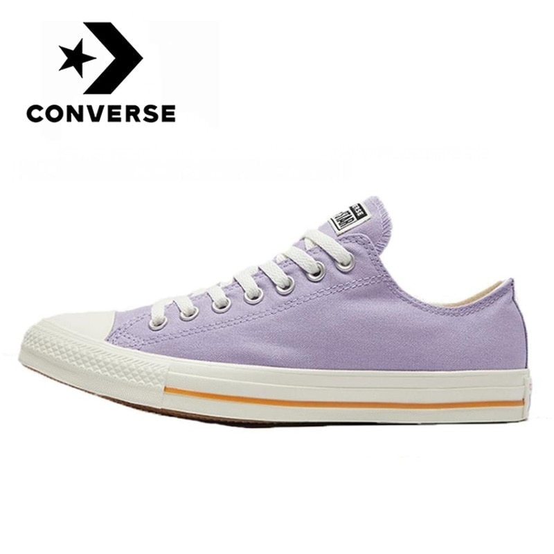 Converse - Chuck All Star Classic for Men and Women, Casual Sneakers, Flat Low Tops, Purple, Authentic, New Collection