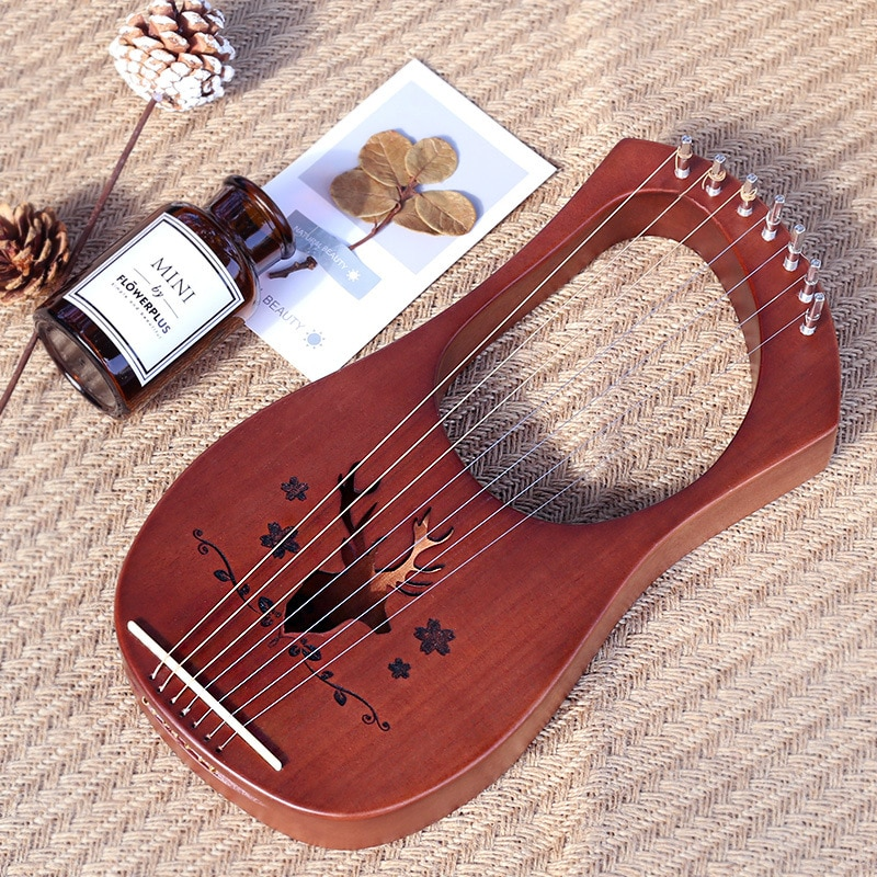 Music Celtic Case Harp Instrument Musical Instruments Professional Wooden String Music Harph Frends Instrumentos Tools HX50SQ enlarge
