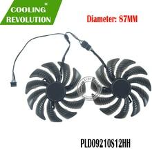 87MM PLD09210S12HH DC12V 0.40A 4PIN wentylator graficzny nadaje się do Gigabyte GTX 1660 Super GV-N1660 OC 6GD