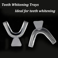 135pcs silicone mouth guard for teeth thermoforming moldable dental mouth whitening teeth mouth tray sleep aid oral care tools
