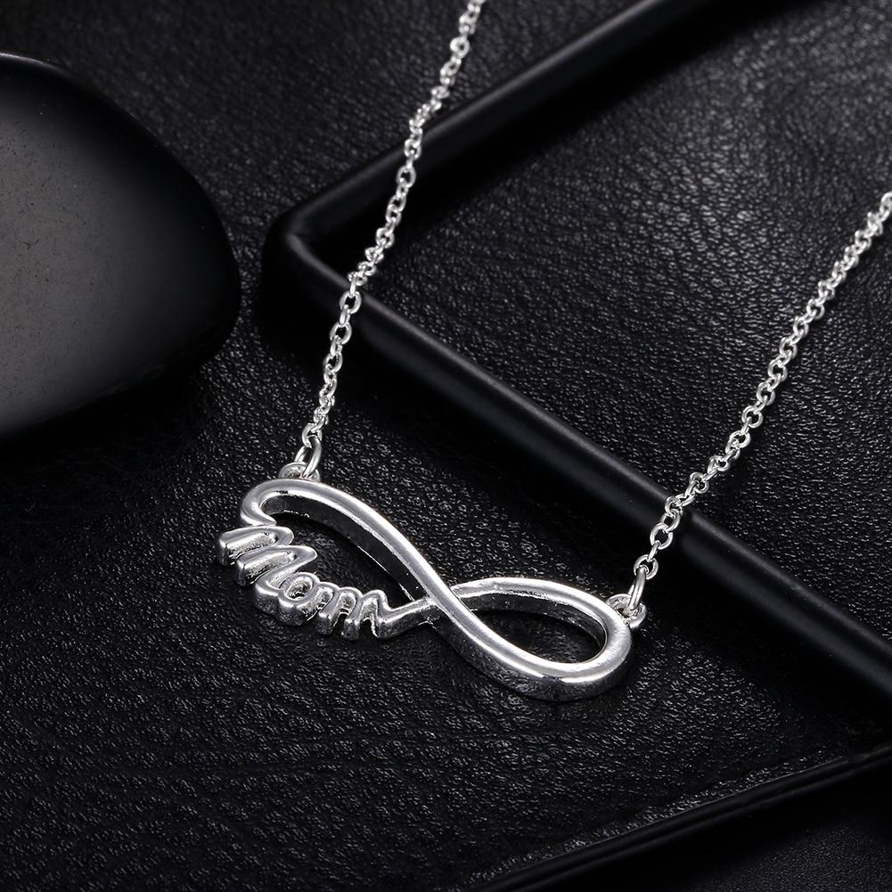 Новый-925-Серебряное-ожерелье-18-дюймов-Элегантный-мама-кулон-для-женщин-модное-ювелирное-изделие-для-мамы-рождественские-подарки