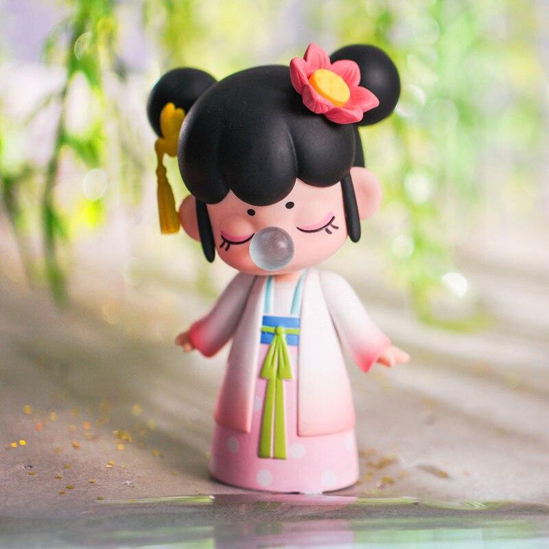 Caja ciega Robotime Nanci Estilo de China muñecas de personaje modelo para regalo de cumpleaños para niñas