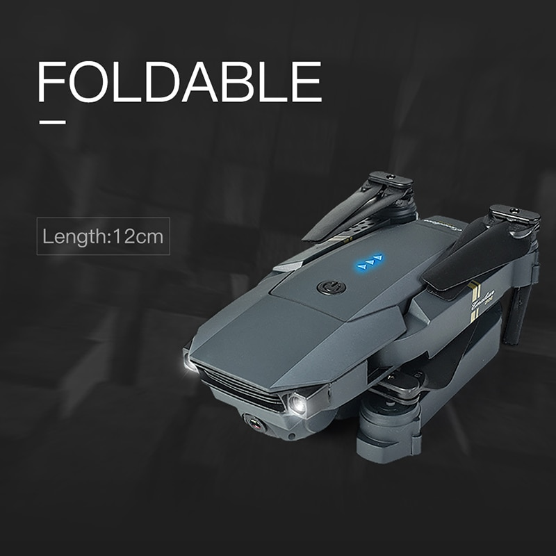 2021 New Drone 4k Profesional Dual Camera with GPS WIFI Air Pressure Altitude Hold Black and Gray Foldable Quadcopter Drone Toy enlarge