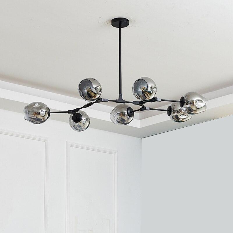 BTX-مصباح سقف زجاجي Led بتصميم حديث ، إضاءة داخلية ، إضاءة سقف زخرفية ، مثالية لغرفة الطعام أو غرفة المعيشة أو غرفة النوم أو المطعم.