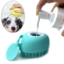 Bagno cucciolo grande cane gatto bagno massaggio guanti spazzola morbido sicurezza Silicone accessori per animali domestici per cani gatti strumenti mascotte prodotti