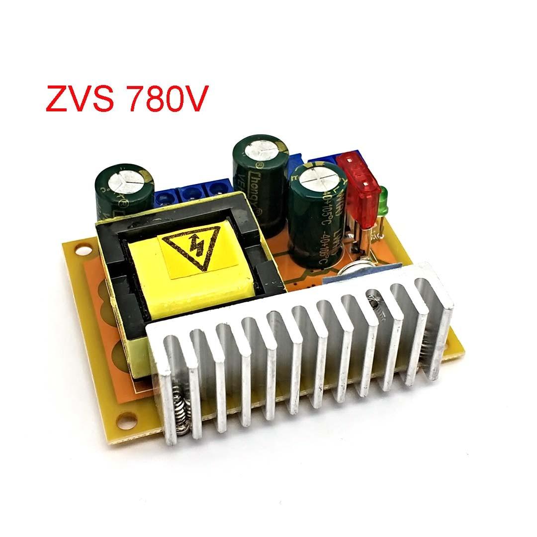 Новый DC-DC конденсатор высокого напряжения для зарядки ZVS boost, модуль пистолетов 45-390 в 780 в, Регулируемый регулятор с одним выходом
